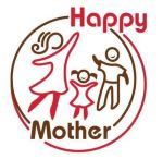happy mother